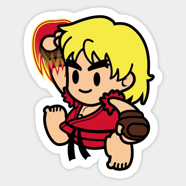 Ken masters sticker