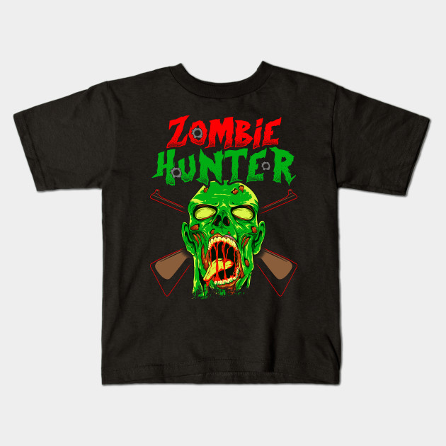 Zombie Hunter design Halloween Scary Horror Costume Gift