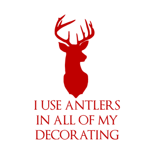 Antlers Red