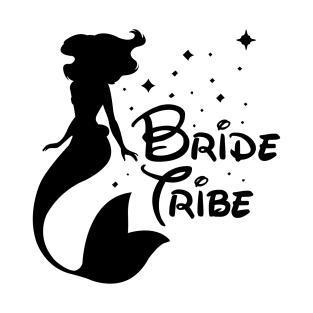 bride tribe 3 t shirt