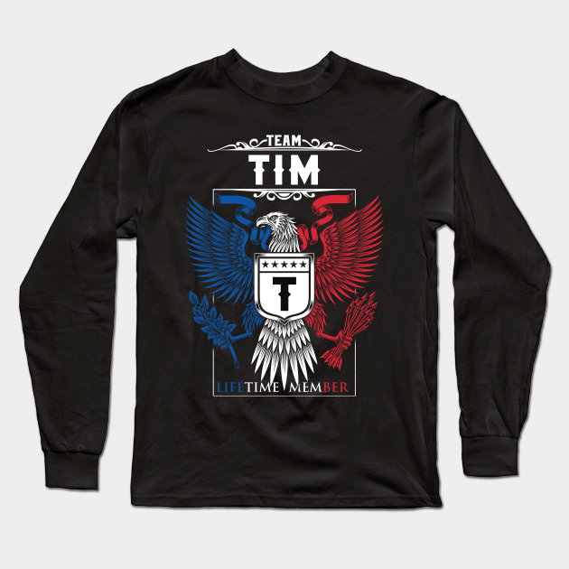 Team Tim Lifetime Member | Tim Surname