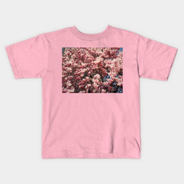 Magnolia Flowers Magnolia Flowers Kids T Shirt Teepublic