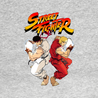 STREET FIGHTER (RYU&KEN) t-shirts