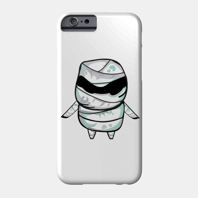 Cute Halloween Mummy Phone Case