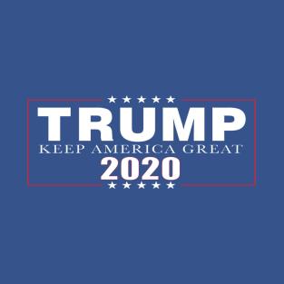 002060f9 Trump 2020 Keep America Great! T-Shirt