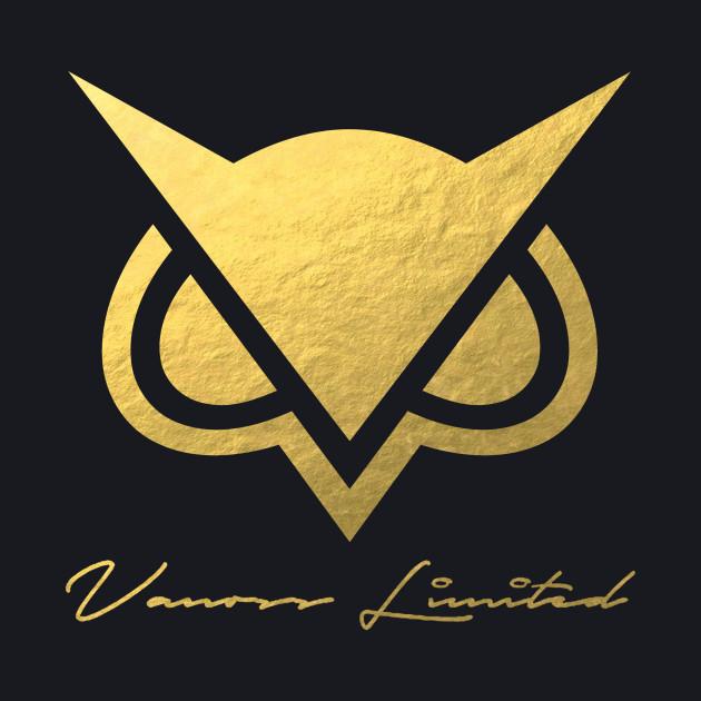 Vanoss Owl Logo Gold Foil