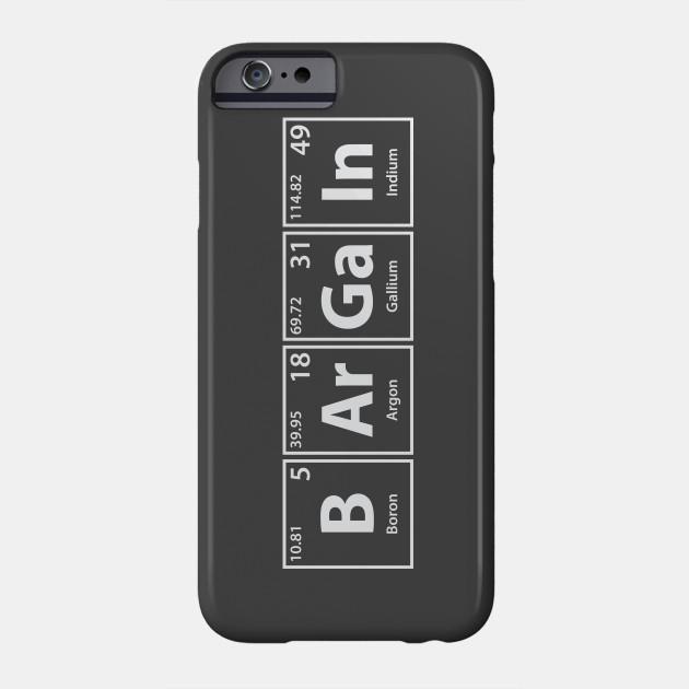 Bargain (B-Ar-Ga-In) Periodic Elements Spelling