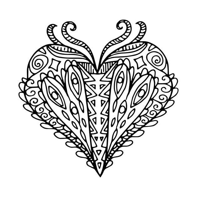 heart mandala mandala t shirt teepublic