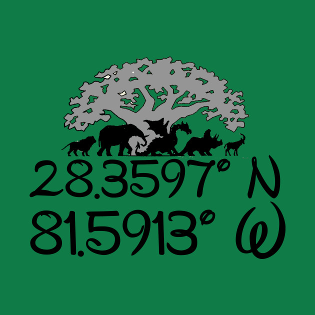Coordinates of Animal Kingdom
