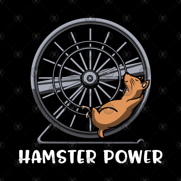 Hamster Wheel Funny Mouse Pet Lover Gift