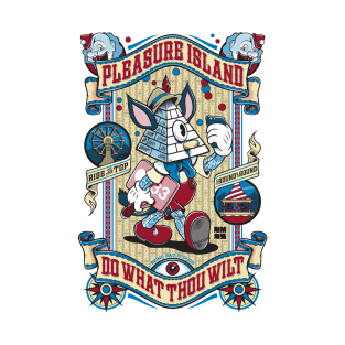Pleasure Island - Occult Pinocchio (Light) t-shirts