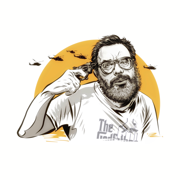 Francis Ford Coppola - An illustration by Paul Cemmick