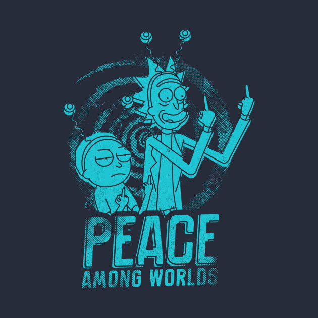 Peace Among Worlds - Peace Among Worlds - T-Shirt | TeePublic
