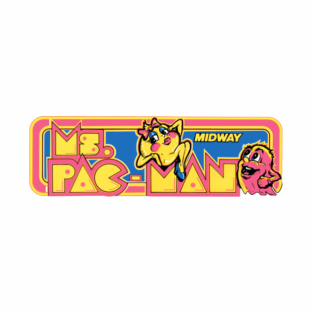 Ms. PAC-MAN Pink Seduction