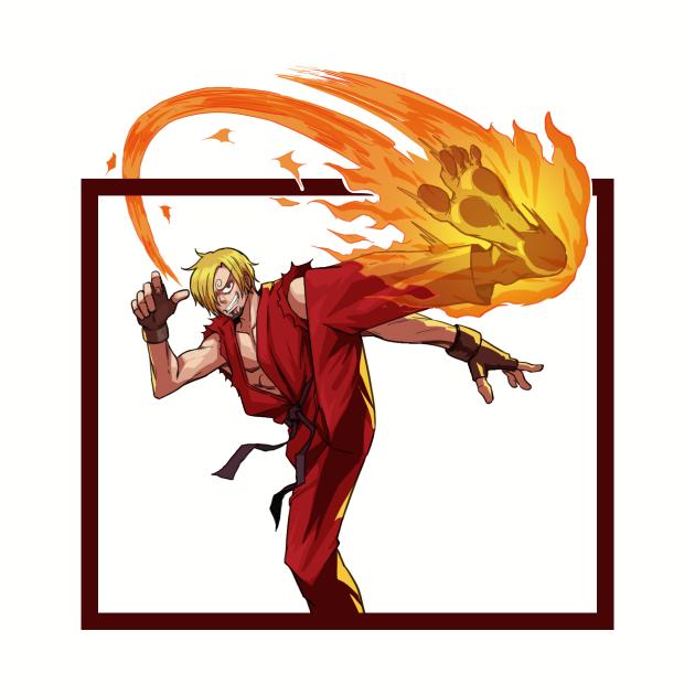 Sanji X Ken !