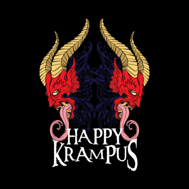 Happy Krampus Christmas Halloween Horror Devil