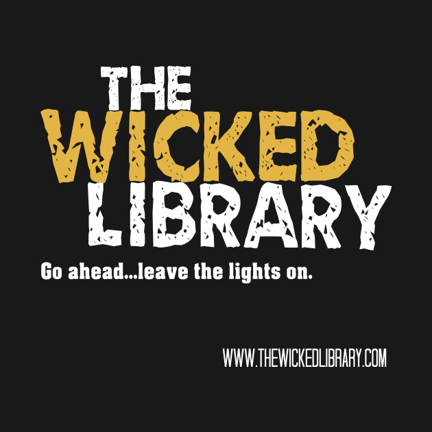 The Wicked Library Logo, Black