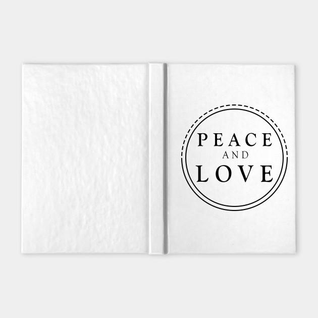 Peace And love Black Design