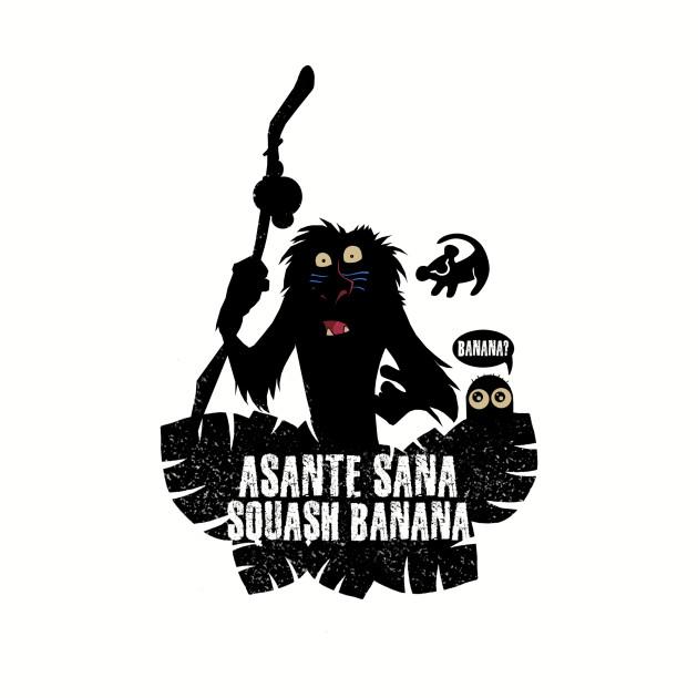 Asante sana squash banana!