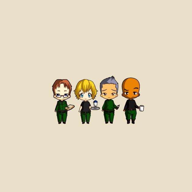 Chibi Stargate - Original Team