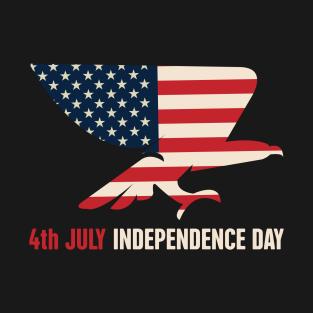 de4af0e62820e 4th July Independence Day T-Shirt