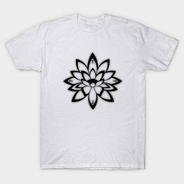 Lotus Flower Symbol Hinduism T Shirt Teepublic