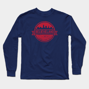 5651538b5554 Believeland Long Sleeve T-Shirts   TeePublic