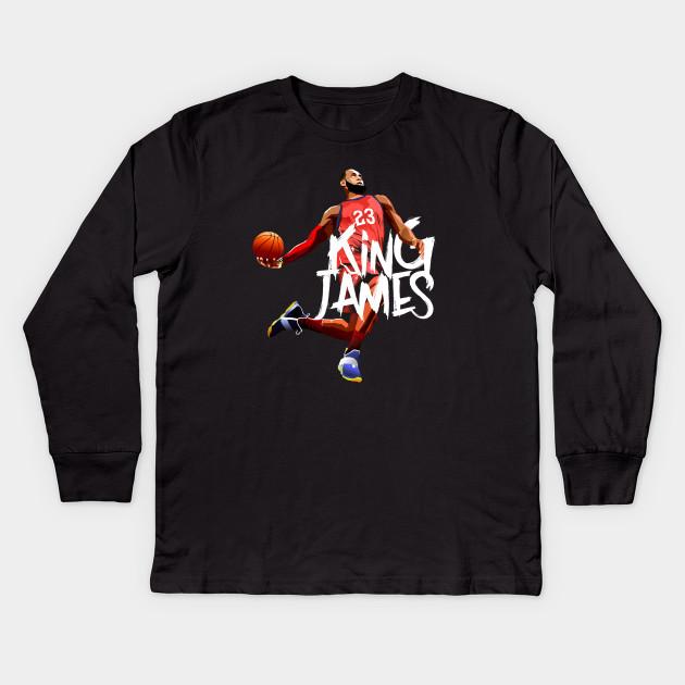 Lebron James - Lebron James - Kids Long Sleeve T-Shirt  0f419247f