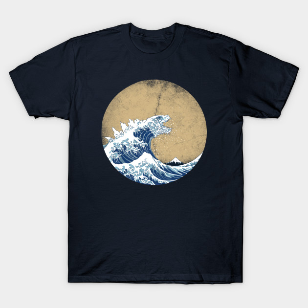 Hokusai Kaiju - Vintage version