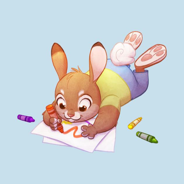 Crayon Bunny