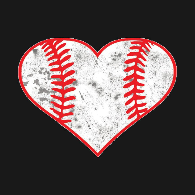 Baseball Heart Shirt, Softball Mom Sports Gift
