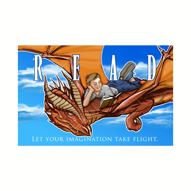 Read A Book and Fly Away on the Wings of A Dragon