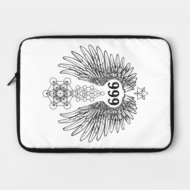 Angel Number 666 Sacred Geometry by ladymoldavite