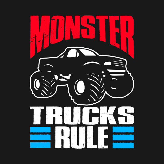 Monster Trucks Gift | Big Trucks