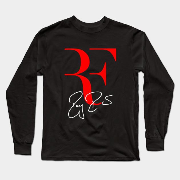 fffa534d Roger Federer Tennis Player - Roger Federer - Long Sleeve T-Shirt ...