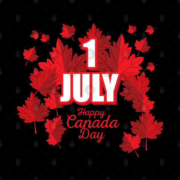 1 July Happy Canada Day
