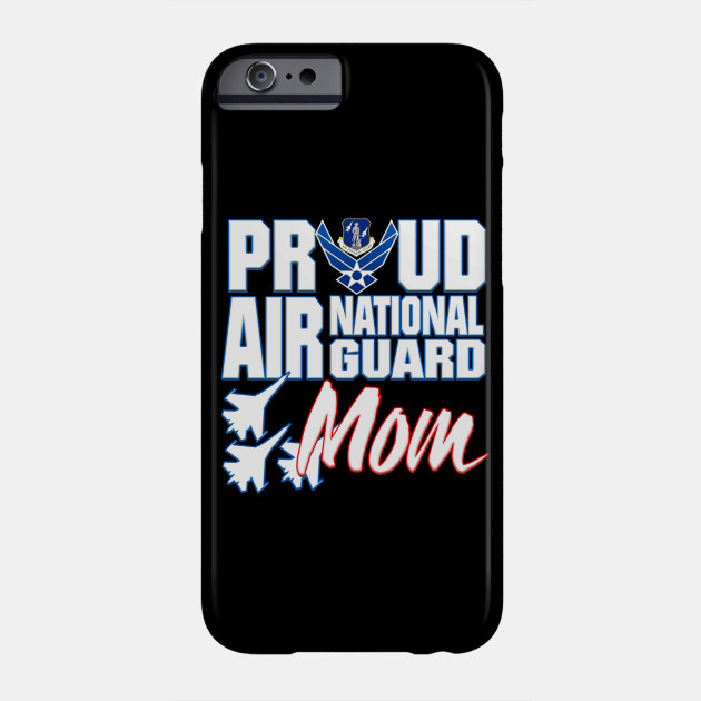Proud Air National Guard Mom USA Mothers Day Phone Case