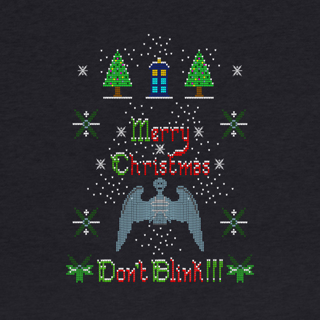 MERRY CHRISTMAS AND DON'T BLINK!!!