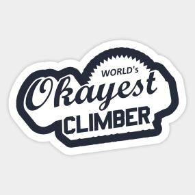 climbing stickers teepublic