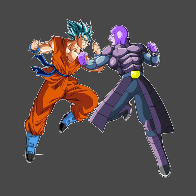 Hit and son goku
