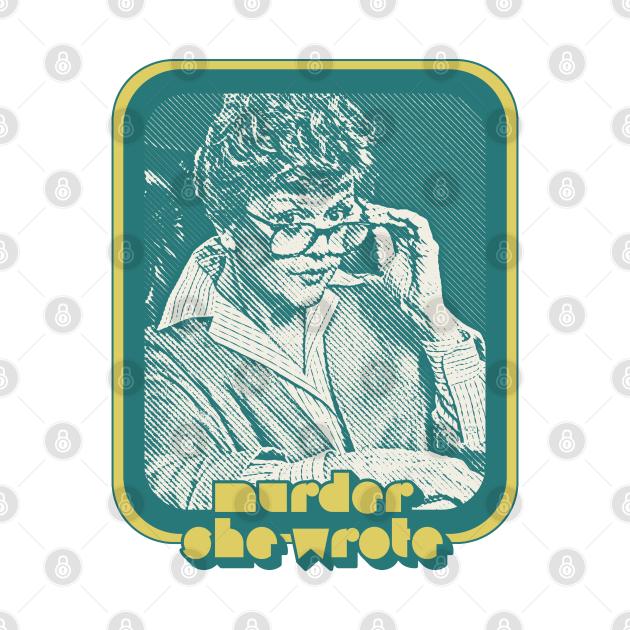 Murder She Wrote / 1980s Retro TV Design