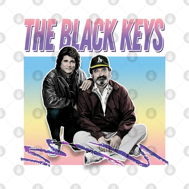 The Black Keys / Retro Style Aesthetic Meme Parody Design