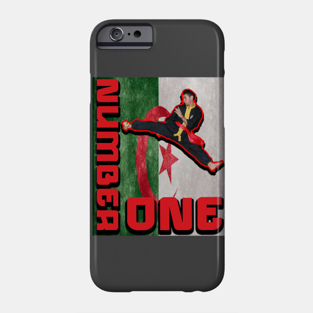 funny number one martial arts sports collection Phone Case