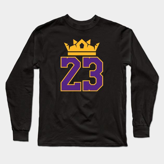 cba0122e230 King James Lakers 23 - Lebron James - Long Sleeve T-Shirt
