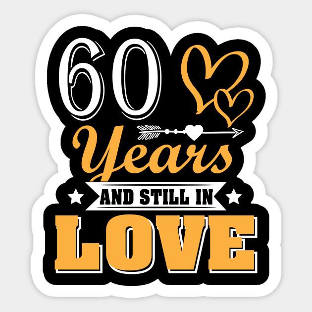 Love 60th Wedding Anniversary Shirt