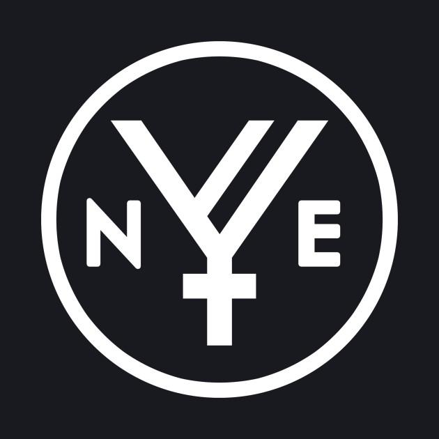 Next Year's End - logo white