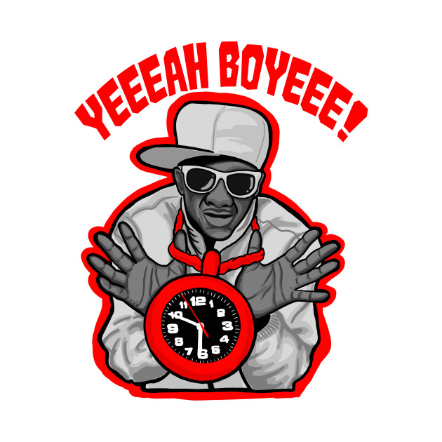 Flava Flav old school hip hop shirt