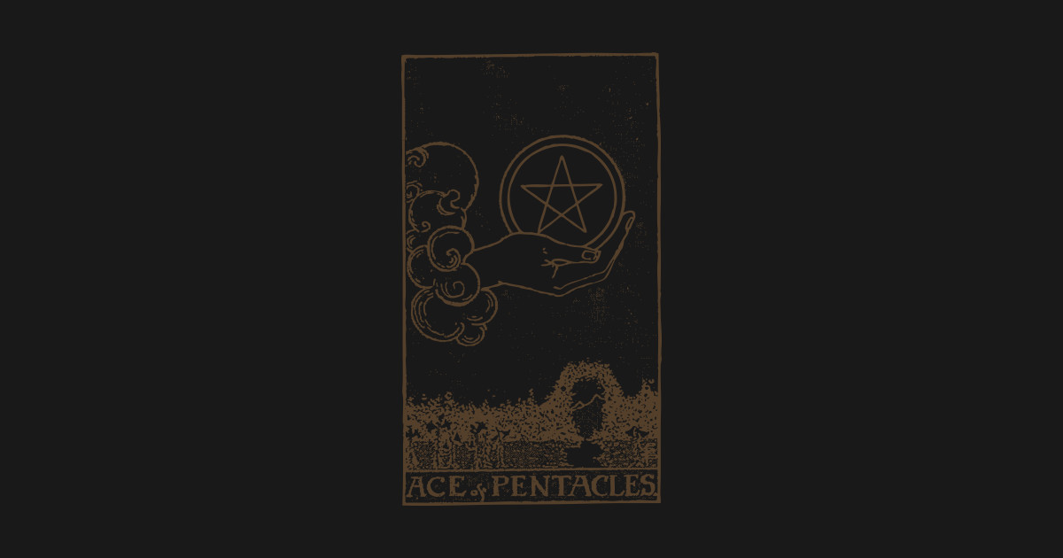 Ace of Pentacles by alienaxioms
