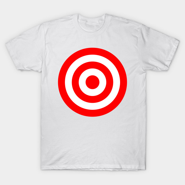 cb2914fe8e Bullseye Target Red & White Shooting Rings - Target Shooting - T ...