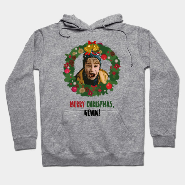 Merry Christmas Kevin Home Alone Hoodie Teepublic